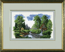 Landscape - Counted Cross Stitch Kit with Color Symbolic Scheme bst:495