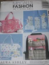 "McCALL'S #M4403-INFANT ""LAURA ASHLEY"" DIAPER BAGS & CAR ORGANIZER PATTERN OZ  FF"