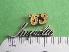 1963  63  IMPALA  hat pin , tie tac , lapel pin , hatpin , pin GIFT BOXED