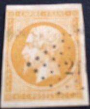 France N° 13 Aa 10 C Jaune Citron Obli Légère  Tb Côté 80€