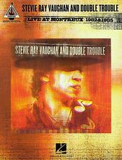 STEVIE RAY VAUGHAN LIVE AT MONTREUX GUITAR TAB BOOK NEW