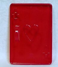 Vintage Design HRM Red Cookie Cutter - Playing Card Ace of Hearts Casino Poker