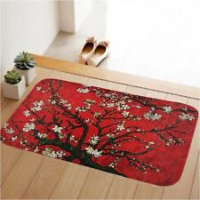 Red Nonslip Doormat Floor Rug Carpet Entrance Kitchen Bedroom Hallway Door Mat