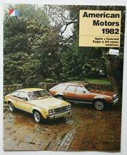 AMC AMERICAN MOTORS 1982 dealer brochure catalog - French - Canada Spirit Eagle