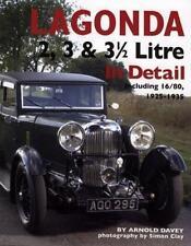 Lagonda 2, 3 & 3½ Litre In Detail 1925-1935 (14/60 16/65 16/80 Speed) Buch book