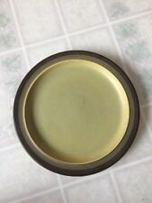 "Arrowstone Avocado Green KASUGA single salad / dessert plate 7 1/4 "" Wide"