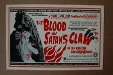 The Blood of Satan's Claw Lobby Card Movie Poster