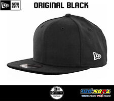 New Era 9Fifty Plain Blank Snapback Hat Original Uniform Cap Original Black Navy