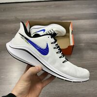 NIKE AIR ZOOM VOMERO 14 BLUE WHITE RUNNING TRAINERS SIZE UK6 US6.5 EUR39