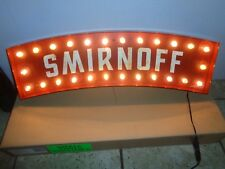 SMIRNOFF VODKA LIGHT UP PUB SIGN Brand New!!! RARE! 24 INCHES LONG