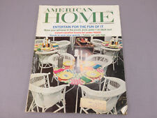 June 1967 American Home Magazine VINTAGE Decorating & Entertaining Ideas