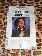 REVUE LE FRISSON ESTHETIQUE N° 13, 2012