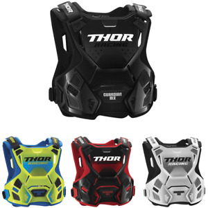 Thor Guardian MX Men's Offroad Motocross ATV Roost Protector - Pick Color/Size