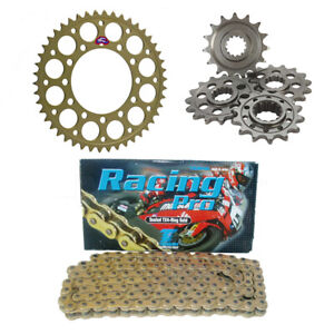 Ducati 888 Strada / SP / SPS Renthal & Tsubaki Racing Pro 520 Pitch Sprocket Kit