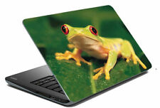 "Frog Laptop Skin Notebook Protector Art Cover Decal Fit 14.1"" x 15.6"""