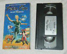 Classic Peter Pan (VHS, 1990) with Mary Martin with Cover