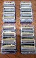 Schick Hydro 5 Sense Energize Refill Razor Blade Cartridge Lot of 16 Bulk New