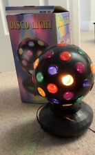 "Lightworks 6"" Inch Portable Coloured Moving Revolving Disco Light Party Ball"