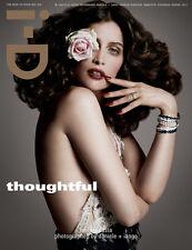 i-D Magazine,Laetitia Casta,David Bowie,Will Chalker,Cara Delevingne,Lena Dunham