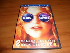 Almost Famous (Dvd Widescreen 2001) Kate Hudson