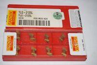 10 new SANDVIK Coromant TLG-2125L Grade 1015, Solid Carbide Inserts