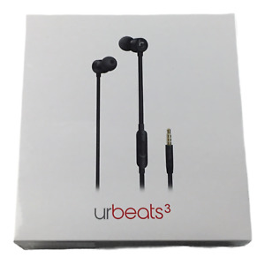 Beats by Dr Dre urBeats 3 Wired Earphone BLACK Edition  3.5mm Jack  NEW