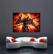 GOD OF WAR ASCENSION XBOX ONE PS4 PS3 GAME PC (2) GIANT ART PRINT POSTER OZ1066