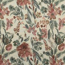 flower Garden Floral Tapestry Curtain Cushion Seating Upholstery Fabric