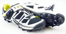 Mavic Chasm Carbon MTB Shoe Men's 10 US/ EUR 44 Clipless Black White Yellow