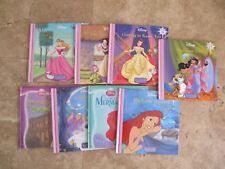 Lot, 8 Disney Princess books, Storybook Library