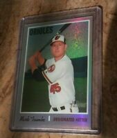 2019 Topps Heritage Chrome Refractor MARK TRUMBO /570 Baltimore Orioles super SP