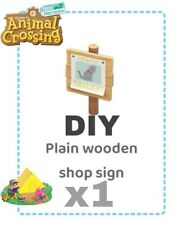 Animal crossing new horizons DIY Cartello Informativo Wooden Sign Recipe
