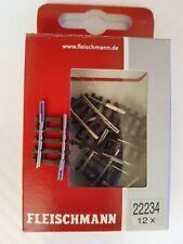 Gleis gebogen R2 6°, Fleischmann/Roco, Spur N, #22234