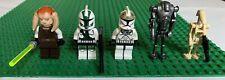 Authentic Retired LEGO Star Wars Mini-figure Lot Sasee Tin Commander Gree... ect