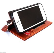 genuine vintage leather case for iphone 5c cover book wallet credit card 5c slim