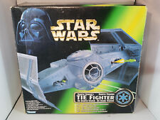 Darth Vader's Tie Fighter Star Wars Potf2 Kenner 1996 Power of The Force