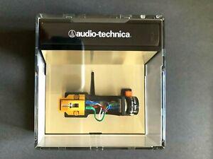 AUDIO TECHNICA AT-150MLX AT150MLX PHONO CARTRIDGE + TECHNICS HEADSHELL vinyl