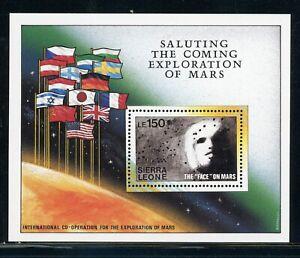 SIERRA LEONE MNH Selections: Scott #1171 Exploration of MARS SPACE CV$6+