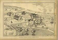 1903 Infectious Diseases Hospital Bexhill On Sea Birds Eye View
