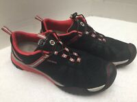 """J-41 Adventure On """"Crossover"""" Women's Hiking Trail Shoes Red/Black Size 9.5M 👀"""