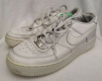 Nike Kid's Air Force 1 Low GS White Trainers Size UK 5.5 Used Condition