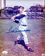 TED WILLIAMS SIGNED 8x10 PICTURE AUTO AUTOGRAPH JSA LOA RED SOX HOF