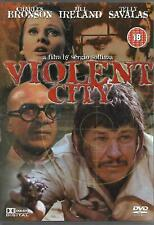 Violent City DVD Charles Bronson Jill Ireland Telly Savalas UK Release RARE GIFT