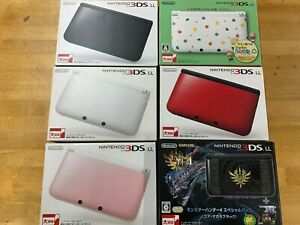 Nintendo 3DS LL XL console Various colors Accessory complete Used Japanese only