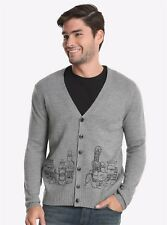 Men's Harry Potter Potions Cardigan Sweater Licensed Product