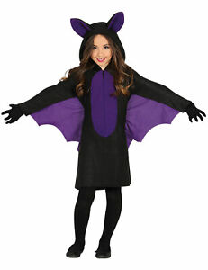 Fledermaus-Kostüm für Kinder Halloween schwarz-violett - Cod.320468