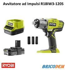 Ryobi R18IW3-120S Avvitatore ad impulsi a batteria 18V 2 ah