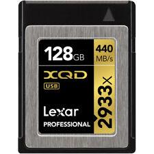 Tarjetas de memoria Lexar para cámaras de vídeo y fotográficas para 128 GB