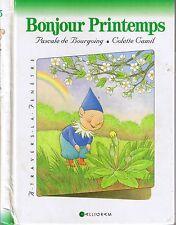 Bonjour Printemps * A travers la fenêtre encyclopédie Maternelle Calligram