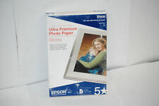 Epson Inkjet Ultra Premium Glossy Photo Paper 4 x 6, 50 Sheets C13S041934